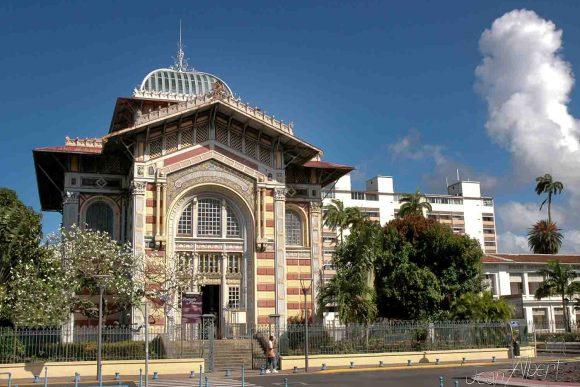 Biblioth que schoelcher office du tourisme de fort de france - Office de tourisme fort de france ...