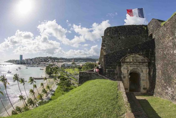 Fort saint louis office du tourisme de fort de france - Office tourisme fort de france ...