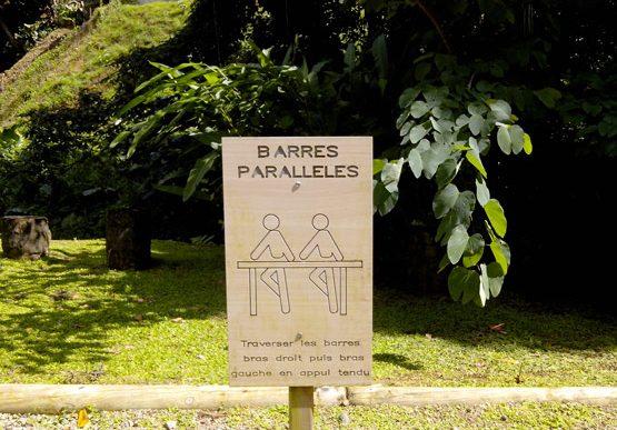 Parcours de sant du domaine de tivoli office du tourisme de fort de france - Office de tourisme fort de france ...